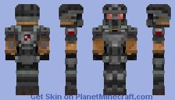 Nine tailed fox Minecraft Skin