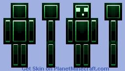 glow slime Minecraft Skin