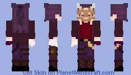 Masked Villain OC Minecraft Skin