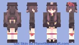 ||.Hu Tao.|| Minecraft Skin
