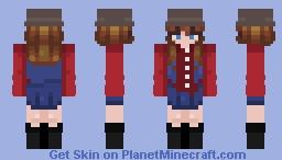 Jessica Biel 7th Heaven rq Minecraft Skin