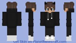 black-cool-skin Minecraft Skin