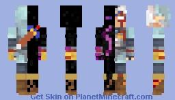 Enderman + Fierce Deity August 2021 Minecraft Skin