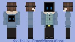 Pugbot9k (Masked) Minecraft Skin