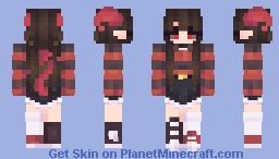 Inner demons Minecraft Skin