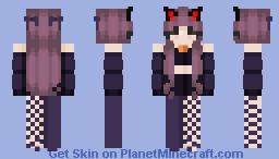 witches cat Minecraft Skin