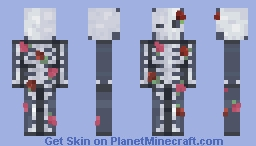 Withered Petals - Skintober Day 5 Minecraft Skin