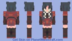 everyone is fake | persona Minecraft Skin