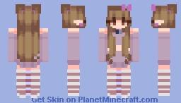 old lavendar Minecraft Skin