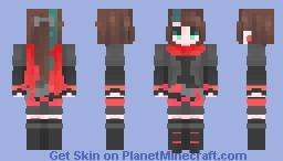 red criminal Minecraft Skin