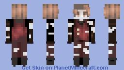 Under the streetlamp- Skintober Day 22 Minecraft Skin