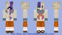 MafiaTale Yui. Minecraft Skin