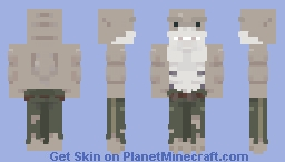 King Shark [DC comics] Minecraft Skin