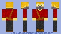 Cloaked Man (No Cloak) Minecraft Skin