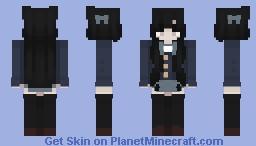 Akiyama Mio ~ ! Minecraft Skin