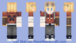 Jackie Tales from the SMP Minecraft Skin