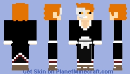 ichigo kurosaki vs grimmjow -BLEACH- Minecraft Skin