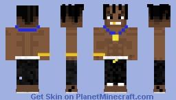 Travis_Scott Minecraft Skin