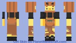 happy halloween🎃 Minecraft Skin