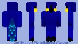 Hyacinth Macaw Minecraft Skin