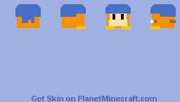 Bandanna Dee - Kirby Minecraft Skin