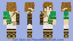 Link? (Breath of the Wild Sequel) Minecraft Skin