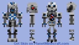 T-5000 Endoskeleton Minecraft Skin