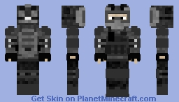 Motocross Soldier Minecraft Skin