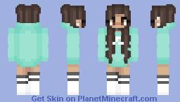 astelic - aqua Minecraft Skin