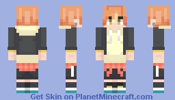 Akito Shinonome Minecraft Skin