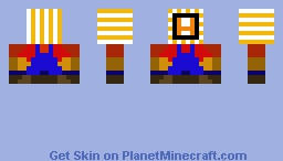 Mario bit Minecraft Skin