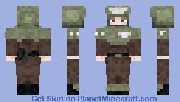 Cadian imperial guard Warhammer 40k Minecraft Skin