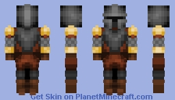 Autumn Knight / CE Minecraft Skin