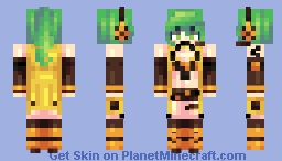 [Kari] Bi☣️hazard Minecraft Skin