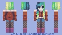 Earthy / Fiery Minecraft Skin