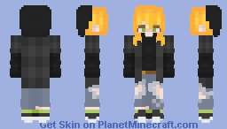 Ginger Skater Girl Minecraft Skin