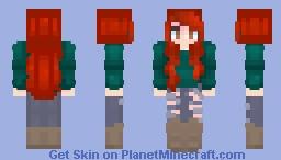 Lil' lady Minecraft Skin