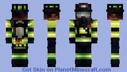 9/11 First Responder (Skin Tribute) Minecraft Skin