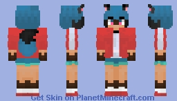 Michiru - BNA Minecraft Skin