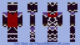 Purple Knight Minecraft Skin