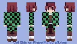 たん tanjiro Minecraft Skin