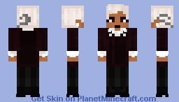🖤𝙋𝙧𝙪𝙙𝙚𝙣𝙘𝙚 𝘽𝙡𝙖𝙘𝙠𝙬𝙤𝙤𝙙 🖤 Minecraft Skin
