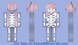 .+*𝓢𝓹𝓸𝓸𝓴𝔂 𝓢𝓬𝓪𝓻𝔂 𝓢𝓴𝓮𝓵𝓮𝓽𝓸𝓷*+. Minecraft Skin