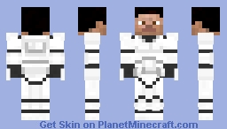 Clone Trooper - Without Helmet Minecraft Skin