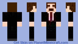The Boss Minecraft Skin