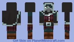 The Lone Illager (request) Minecraft Skin