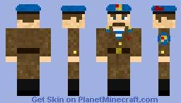 Soviet VDV paratrooper dress uniform