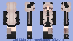 Flowers and Bandages ~ Minecraft Skin