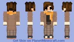 Fancy Soot Minecraft Skin