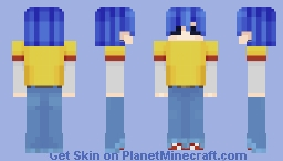 2d (Phase 1) ~~~ Gorillaz Minecraft Skin